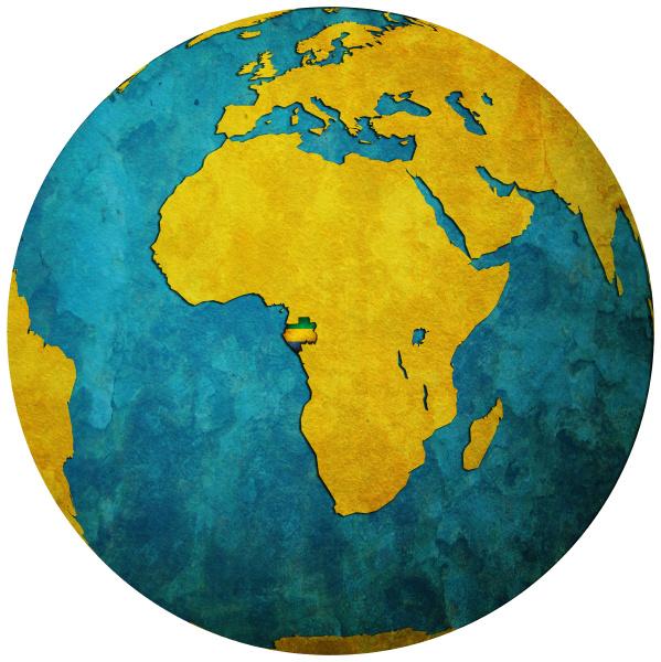 liberado politicamente africa vintage bandeira isolado
