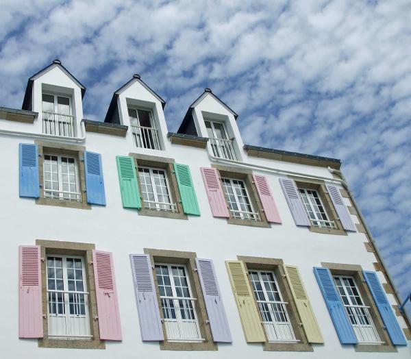 cor janela colorido fachada estilo de