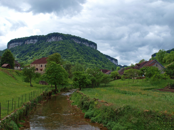 belo agradavel vista vale aldeia