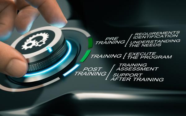 processo de treinamento on line