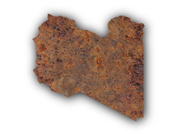 opcional libia ferro metal enferrujado ferrugem