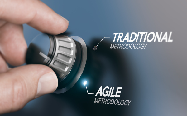 mudando a metodologia de gerenciamento de