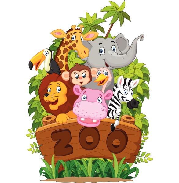 colecao de ilustracoes de animais do