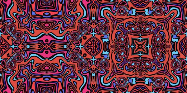 azulejo, padrão, de, repetição, simétrico, colorido - 28215350