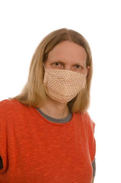mulher, com, proteção, bucal, e, máscara - 28231853