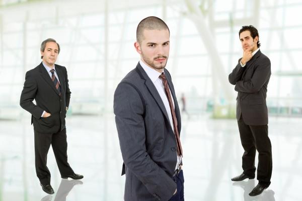equipe de negocios