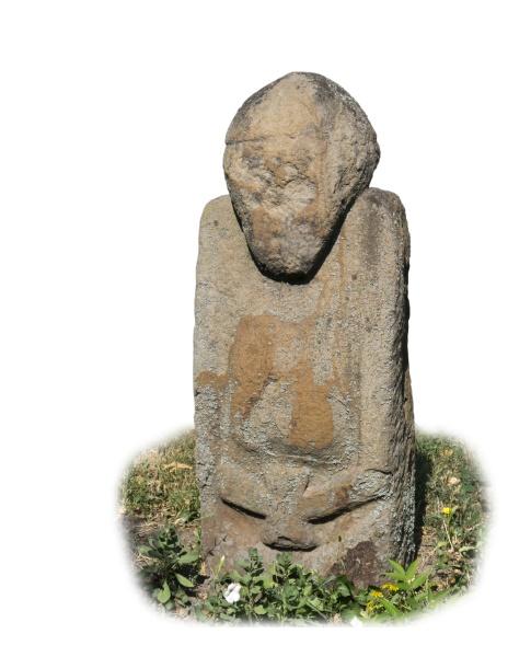homem da esculturaspolovcy12 13 seculos