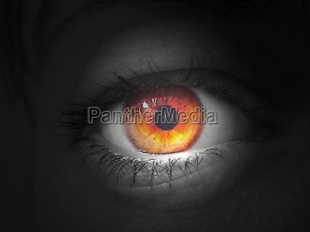 mancha olho
