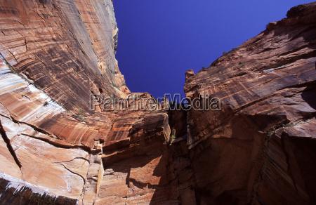 azul enorme montanhas pedra ferias parque