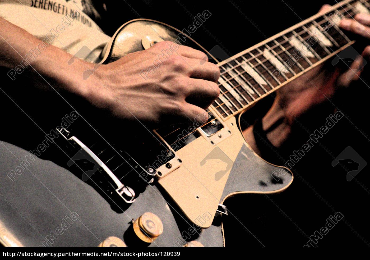 homem, de, guitarra - 120939