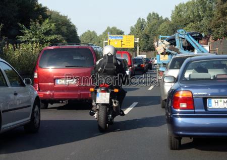 situacao perigosa com a motocicleta