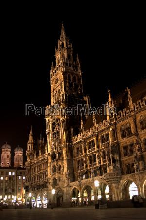 a noite noite atracao bavaria vista