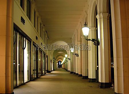 colunas portao canteiro lampadas hamburgo compras