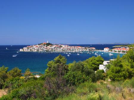 azul cidade ferias verao adriatico croacia