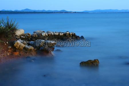 azul praia beira mar da praia