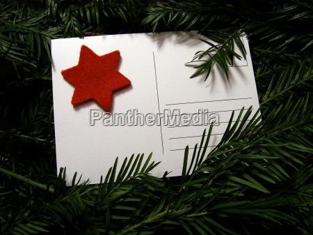 advento cartao postal correio dezembro posto