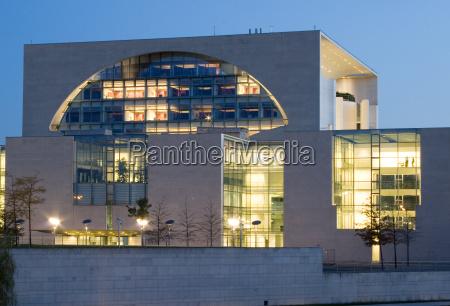 moderno iluminado berlim capital estilo de