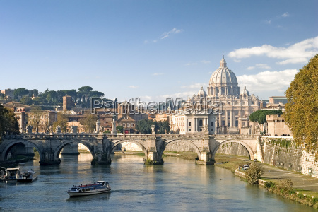 ponte sant angelo basilica san pietro