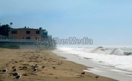 casas ondas california pacifico agua salgada