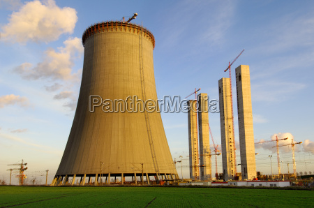 construction of a power plant cooling