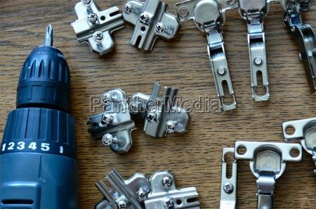 mobiliario parafuso reparacao angulo chave de