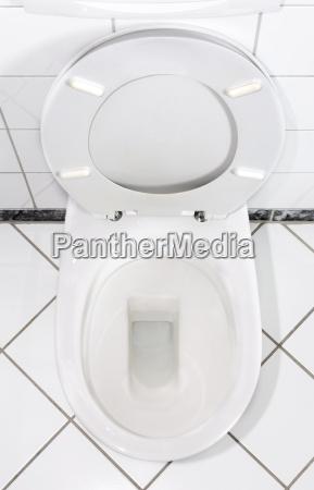 weiße, toilettenschüssel - 733336
