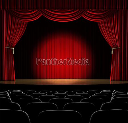 auditorio com ponto no centro