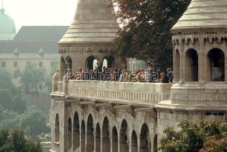 escada torre historico turismo verao budapeste