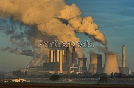 power station torre de resfriamento vapor