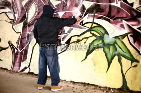 youthful sprayer