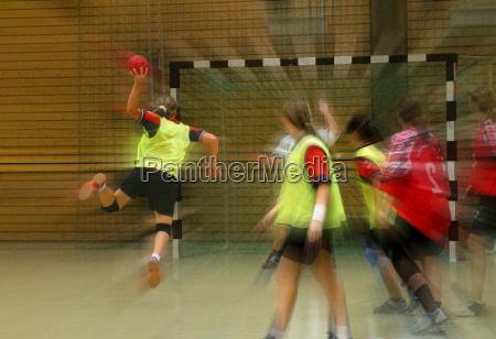 handball da menina