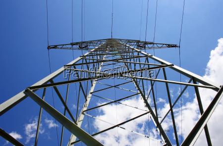 olho de ra poder eletrica pole