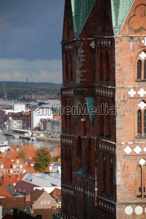 torre igreja cidade tempestade tempestuoso estilo