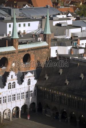 cidade telhados estilo de construcao arquitetura