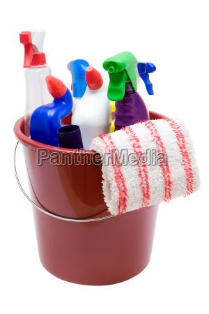 utensilios de limpeza