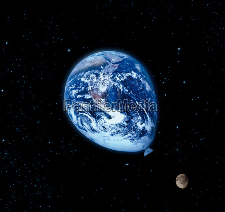 balao globo terra clima