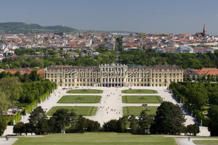 palacio de schoenbrunn em viena