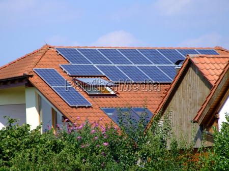 casa construcao ambiente energia solar fotovoltaicos