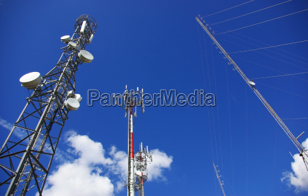 telefone torre tecnologia tv enviar transmitir