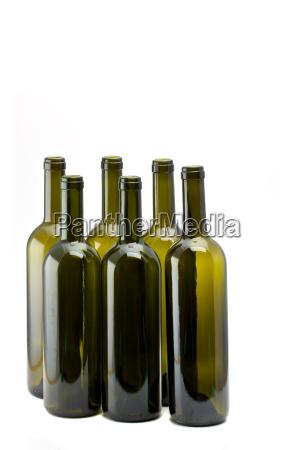 vinho garrafa seis garrafa de vinho