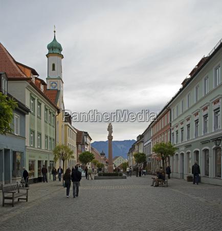murnau historico no bavaria