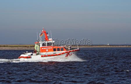 barco do salvamento do mar