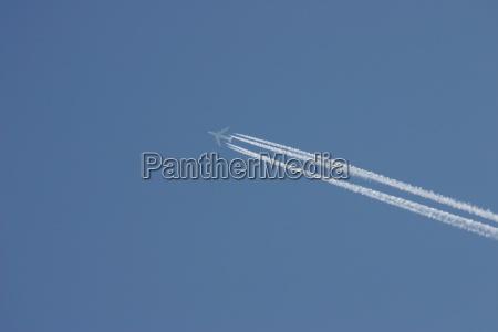 azul rugen ceu aviao ilha
