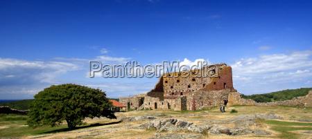 monumento ruina fortaleza estilo de construcao