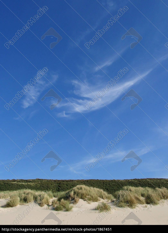 céu, azul, sobre, a, paisagem, da - 1867451
