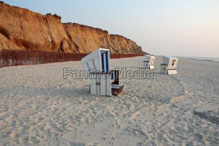 cadeiras de praia na sylt