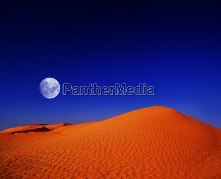 desert noite