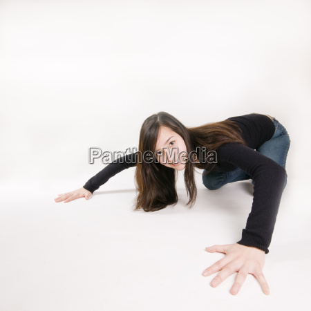 woman wideangle