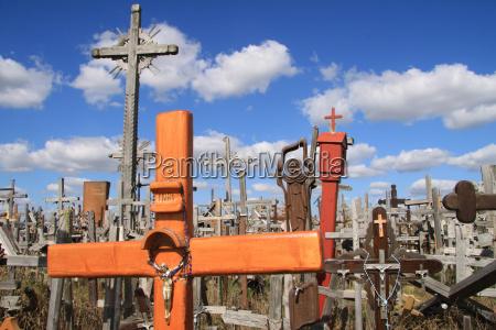 colina, das, cruzes, em, siauliai - 2282179