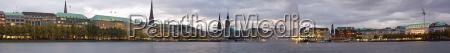 panorama 2009 de hamburgo
